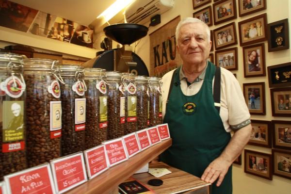 Gheorghe Florescu, cel mai cunoscut cafegiu din București