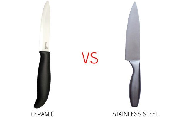 Ce este mai bine să folosim în bucătărie: cuțitul de inox sau pe cel de ceramică?