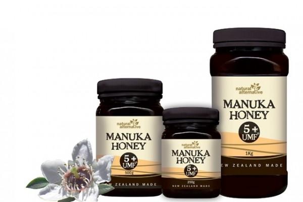 Un sortiment de miere Manuka din Noua Zeelandă