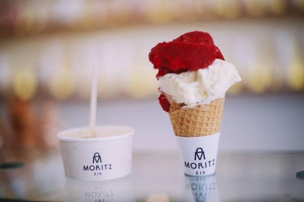 Îngheţata e servită în pahar sau cornet