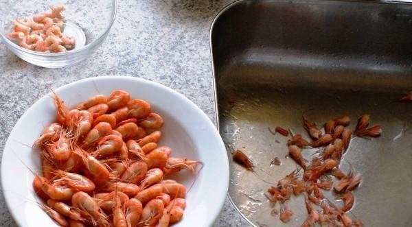 Specie de crevete din Marea Neagră gata de savurat la masă