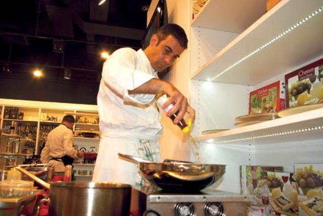 David Contant este un apreciat maestru culinar