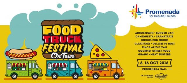 Pizza și burgeri autentici: Food Truck Festival vine la Mall Promenada