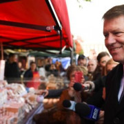 """Președintele Klaus Iohannis: """"Devine o artă să găsești produse românești pe care să le pui pe masă"""""""