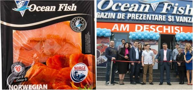"""Ocean Fish intră pe segmentul  """"Ready to Cook"""" cu 5 rețete pe bază de somon"""