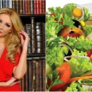 Ce mănâncă azi de post Cristina Herea?