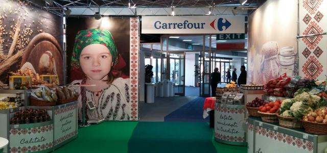 Carrefour sprijină producătorii români la târgul INDAGRA