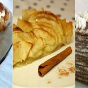 Prăjituri de duminică: simple, ieftine și rapid de realizat