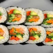 Cum arată un meniu de post realizat de Chef Maria Burlacu: bruschete, supe și sushi vegetarian
