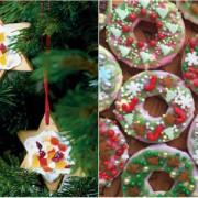 Iată cum faci DECORAȚIUNI COMESTIBILE de pus în pomul de Crăciun