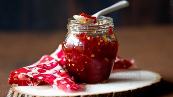 Dulceata de ardei iute reteta combinatii alimente