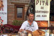 Călin Mătieș a moștenit rețeta pitei de Sântimbru de la bunica sa